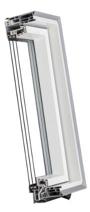 OptiLight - Okna aluminiowo-tworzywowe U4 - KRONmat